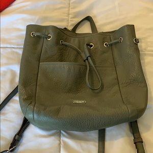 Coach backpack purse